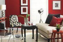 • DÉCO ROUGE • / habiller vous et décorer votre intérieur en rouge