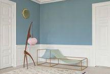 • DÉCO BLEUE • / Inspiration de décoration bleu par Kalico