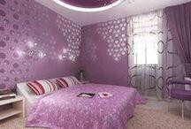 • DÉCO ROSE & VIOLET • / déco rose et violet