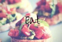 E A T / Scrumptious meals, restaurants and drinks