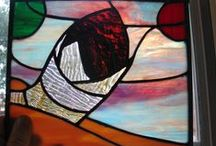 Sci Fi, Fantasy, Geeky, Gamer, Cartoon Stained Glass I Like / Stained Glass I Like / by John Ashford