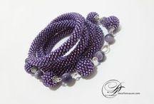 Jewelry- Dwarfs' Treasure / Custom Jewelry, Beaded Crochet Ropes