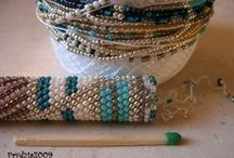 Jewelry - DIY Crochet Rope / Jewelry, Instruction, DIY, patterns