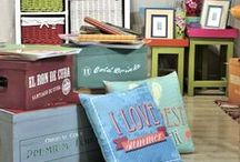 Colors Of Summer & Home Decoration / Rethink your home decor and get inspired by the bright, sunny colors of summer.