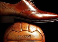 BONTONI SHOES / Each Bontoni shoe is entirely handmade with high attention to detail. Using traditional tools and age old techniques, each shoemaker goes through a process of over 300 steps. The shoes are created using the finest Italian leather, which is carefully inspected for any imperfections upon selection. Hundreds of hand-stitches and hours of labor ensure that each shoe is completely one-of-a-kind.