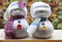 Christmas season / Christmas decorations, DIY's, sweets and more