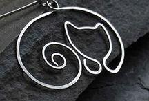 pendants-drót medálok