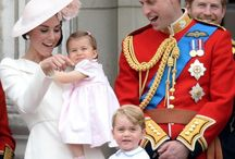 William and Kate / Kate and William and their children