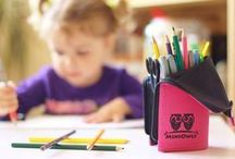 transformer pencil case & coloring pages for kids