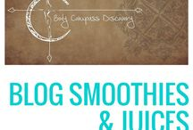 Body Compass Discovery Smoothies & Juices / Smoothie and juice recipes from my blog!