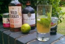 Summer cocktails / Summer is such a great time for cocktails to quench your thirst with great summery flavours.