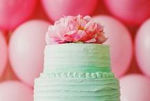 Wedding Cakes / Wedding Cakes are the grand finale to a reception - so shouldn't they be breathtaking?  / by Mine Forever