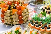 Party Ideas, & Appiterziers / by Sharon .S.