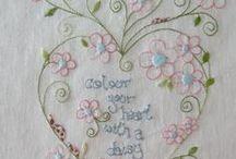 Stitchery ideas / by Carmen Thomas