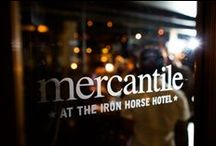 Mercantile Gifts / Mercantile is located in The Iron Horse Hotel and features a carefully curated collection of luxe gifts for hotel guests. These are just a few featured local vendors.  http://www.theironhorsehotel.com/amenity/mercantile/ / by The Iron Horse Hotel