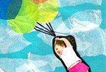Lasten kanssa askarrellen / Ideoita ja vinkkejä lasten kanssa toteutettaviin, pienempiin ja suurempiin askarteluohjeisiin.