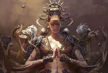 Reines, princesses, enchanteresses, déesses, muses...