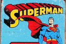 """SUPER Heroes / """"Look up in the sky!"""" / by Beverlie Jean"""