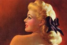Art: Women, Pin-up, Glamour, Art Deco... / Glamour, Pin-up & Art Deco Women... / by A New Year 52