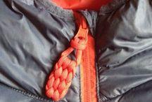 Paracord zipper tabs / Paracord