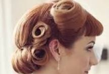 Wedding Ideas: Hair / Short or long, mid or extensions, you can create fantastic looks to make your friends and family gasp as you walk down the aisle. Up dos, down dos, cascading curls or embellished with jewels..... here are a few styles to inspire you.