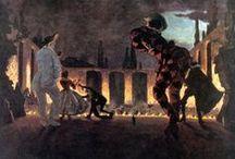 Alexandre Benois Paintings