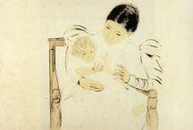 Mary Stevenson Cassatt Paintings