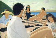 Alex Katz Paintings