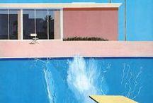David Hockney Paintings