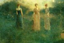Thomas Wilmer Dewing Paintings