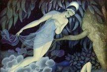 Edmund Dulac Paintings