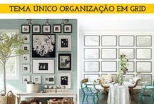 Enquadrando / Como combinar os vários quadros em uma parede