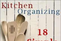 Kitchen Organizing / by She La'Choy