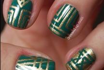 Nail art - geometric