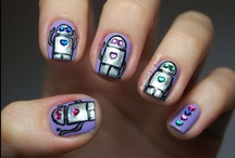 Nail art - free hand