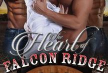 The Heart of Falcon Ridge by D.L. Roan / When three brothers lose their wife giving birth to their twins, can they ever find love together again?