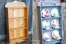 Coast & Country Vintage Makeovers / Painted furniture. Chalk Paint, Miss Mustard Seed's Milk Paint & Fusion Mineral Paint.