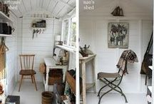 Studio shed in the garden / a creative space in the garden