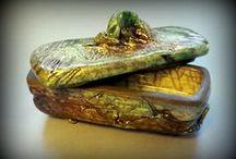 Caixes de raku / Caixes que m'agraden de ceràmica. Cajas que me gustan de ceramica. 私はボックスセラミック·ラヴ。 I Love Boxes ceramic.