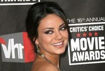 Mila Kunis / Originally from the USSR, Mila is one of the worlds most stunning actresses / by Contactmusic.com