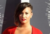 Demi Lovato / Take some time to be inspired by the style of Demi Lovato / by Contactmusic.com
