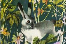 [rabbits + easter]