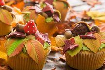 Herfst cupcake's / Leuke Herfst cupcake's