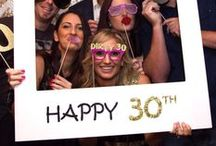 30th Birthday Party Inspiration