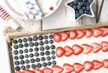 Independence Day - 4th July - Recipes to Remember! / On the 4th of July in the USA, why not create a patriotic and delicious recipe from our collection. Enjoy!