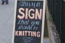 Knitting and Yarny goodness