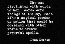 words, words, everywhere... / by Ashlee Turk