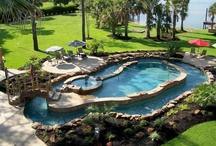 BEAUTIFUL POOLS, ETC / POOLS, POOL HOUSES, POOL ACCESORIES / by Linda Goldsmith