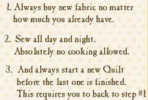 So Sew Stitch Quilt Felt etc. / by PT StAnton