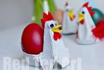 Here Comes Peter Cottontail / It's all about the bunnies, pastels, and colored eggs!  Easter holiday crafts, gifts, fashion and diy home decor ideas.  #diy #eastercrafts #easter #eggs